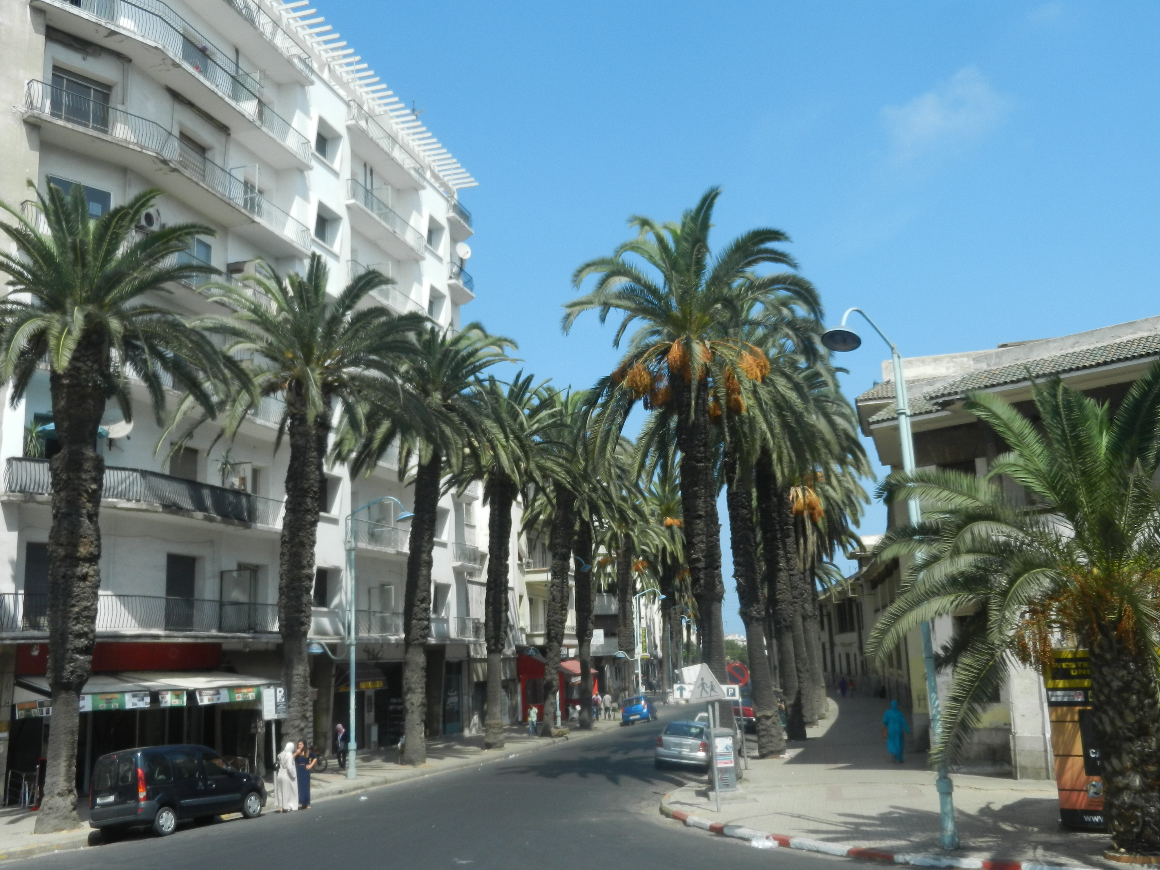 My Sightseeeing Vegan Dining In Casablanca Morocco on French Homes